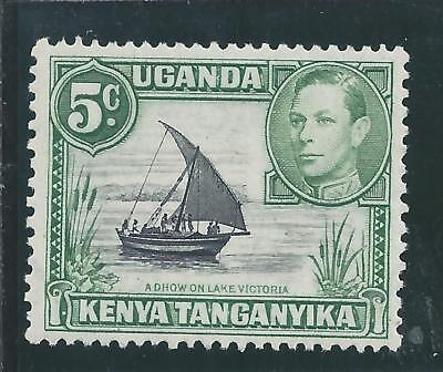 Kenya, Uganda & Tanganyika - 1938 KG V Five Cent Definitive - Un-mounted Mint