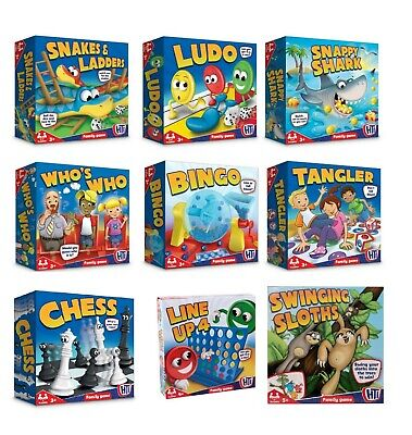 Classic Full Size Board Games Traditional Kids Children Toy Gift Guess Hungy
