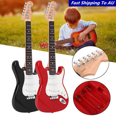 25'' Children Kids Electric Guitar Acoustic Musical Toy Instrument Music Gift AU