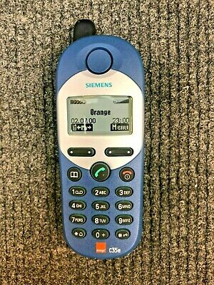 Siemens C35e Orange Dummy Display Mobile Phone