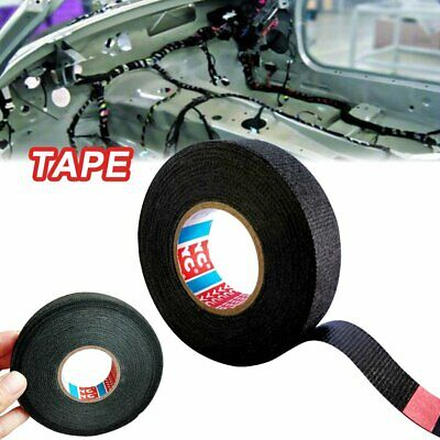 19mmx15m Tesa Coroplast Adhesive Cloth Tape for Cable Harness Wiring Loom BO