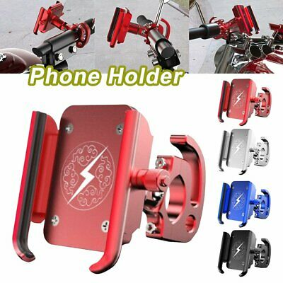 Motorcycle Motorbike Scooter Mobile Phone Holder Aluminum Alloy Mount Stand BO