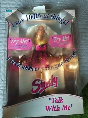 Sindy doll, talk with me, boxed and working, vintage