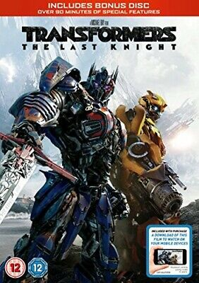 Transformers: The Last Knight - Acceptable Condition DVDs - Cover + Discs Only