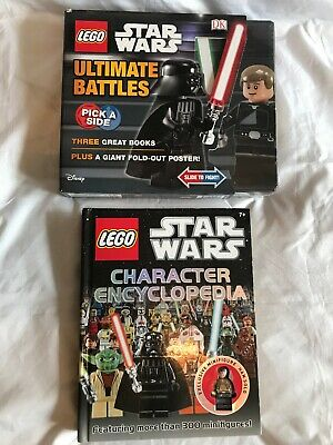 Lego Star Wars Ultimate Battles Sealed & Star Wars Character Encyclopedia book