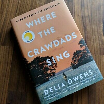 Where the Crawdads Sing Hardcover – August 14, 2018 ( Brand New, Free Shipping )