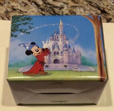 NOS NIB Vintage Walt Disney World 20th Anniversary Mickey 1971-1991 Coffee Mug