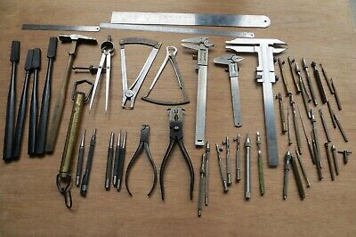 vintage watchmaker tools, job lot. all in good working condition.