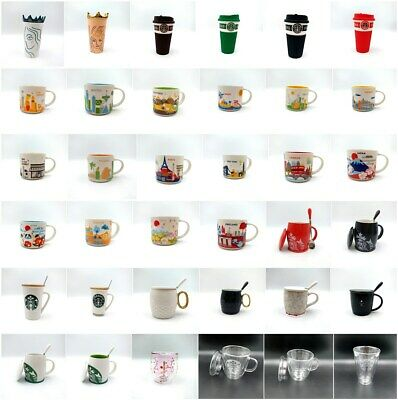 Starbucks You Are Here Collection Pairs London Coffee Mug Cup 12oz Siren Logo