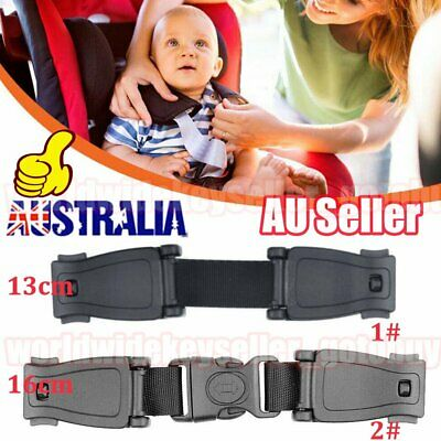 Car Safety Seat Houdini Strap Chest Clip Buggy Harness Lock Buckle Highchair BO