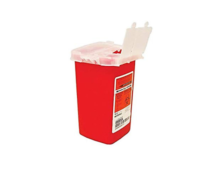20 PACK! Sharps 1 Quart Container Biohazard Needle Disposal 1 Qt Dr Tattoo SHARP