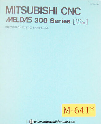 MITSUBISHI CNC, MELDAS 500L Series, Parameter Manual Year