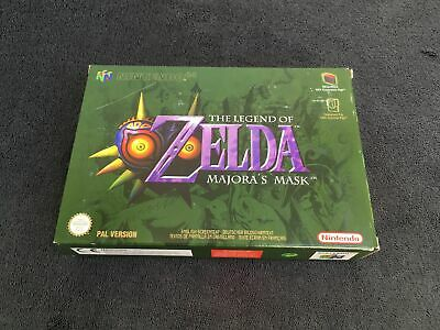 Nintendo 64 The Legend Of Zelda Majora's Mask EUR Quasi neuf