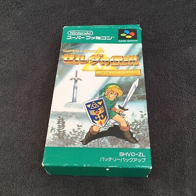 Super Famicom The Legend of Zelda A Link to the Past JAP Bon état