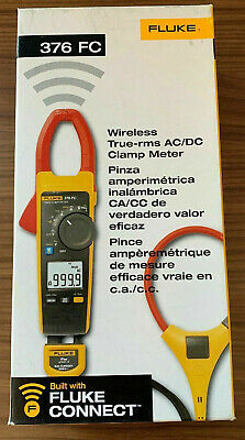 Fluke 376 FC True-rms AC/DC Clamp Meter with iFlex   **New in Box**    MSRP $425