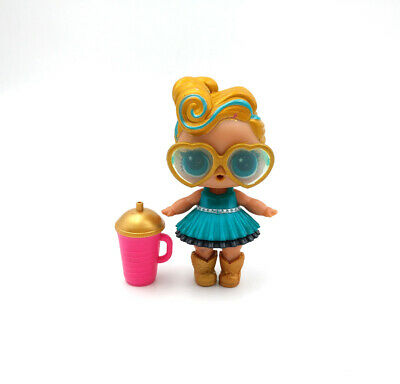 LOL Surprise Doll 24K Gold Rare Wave 2 Series 2-025 LUXE Big Sister Color Change