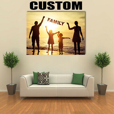 Custom Canvas Wall Art Home Decor Multi Panels Painting Print Poster Unframed