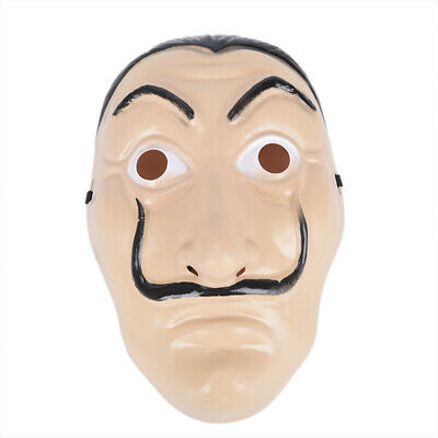 Salvador Dali Money Heist The House of Paper La Casa De Papel Halloween Masks BR