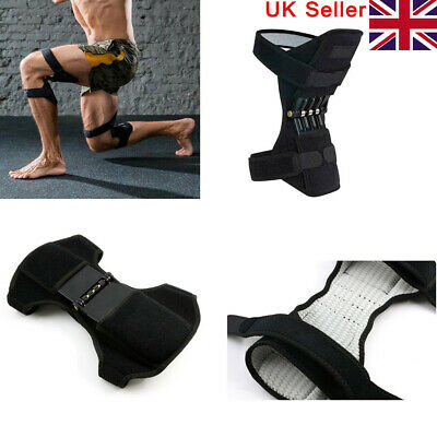Knee Patella Booster Strengthener Spring Brace Support Mountaineer Sport Fitness