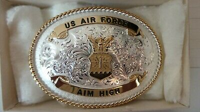 Montana silver smith US AIR FORCE AIM HIGH BELT BUCKLE