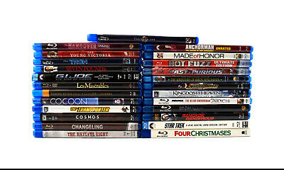 (Lot of 25) Assorted Bluray Movies Collection Tomorrowland (0571)