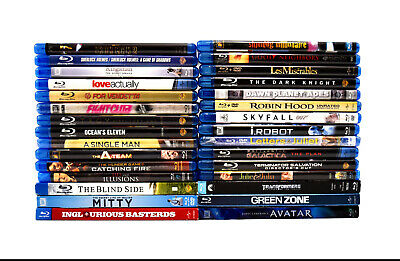 (Lot of 30) Assorted Bluray Movies Collection Fight Club (0563)