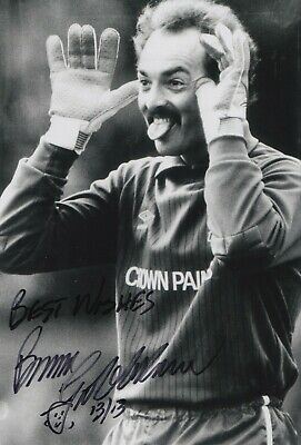 Bruce Grobbelaar Hand Signed 12x8 Photo - Football Autograph Liverpool 2.