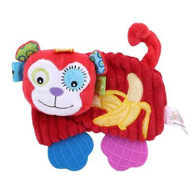 Baby Infant Soft Appease Toys Playmate Calm Doll Teether Developmental Toy DD