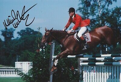 Michael Whitaker Hand Signed 12x8 Photo - Olympics Autograph 2.