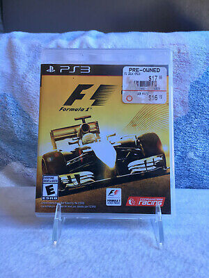 FORMULA 1 F1 2014 (Sony PlayStation 3, 2014) Complete PS3