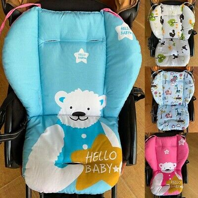Cotton Baby Pram Stroller Seat Pushchair Mat Infant Nappy Changing Mat
