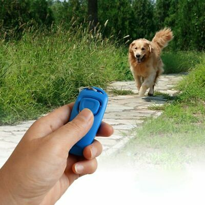 Dog Clicker Whistle Training Pet Trainer Puppy With Guide With Key Ring