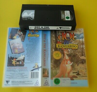 Dot And The Kangaroo 1977 Yoram Gross Rare Video In Great Condition Excellent