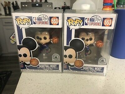 Funko Pop! Disney NBA Experience #553 Mickey Mouse Basketball Exclusive Mint!