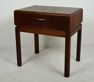A Vintage Founders Furniture Co. Mid Century Walnut Night Stand 1960's