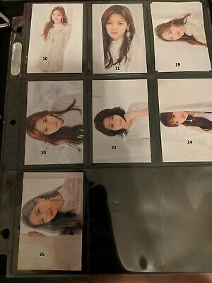 TWICE WORLD TOUR 2019 - TWICE LIGHTS Official Trading Cards