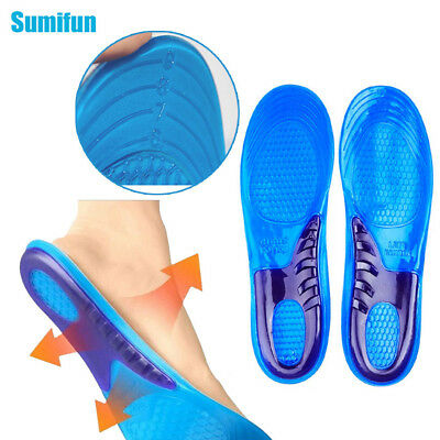 Sumifun 2Pcs Gel Unisex Insole Orthotic Arch Sport Shoe Pad Running Insoles C531