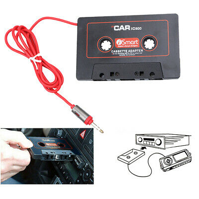 AU MP3 Stereo Car Tape Cassette to AUX Audio Adapter Converter for iPhone iPod