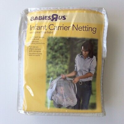 Baby Carrier Netting Canopy Cover Soft Mesh Outdoor Insect Barrier Washable