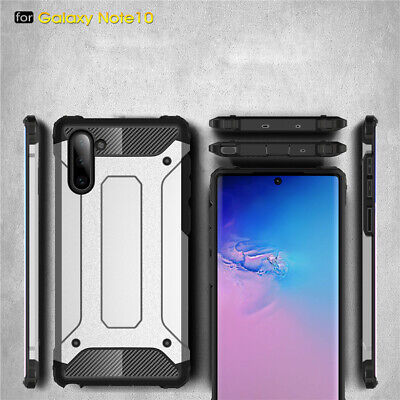 For Samsung Galaxy Note 10 Plus Luxury Rugged Armor Shockproof Hybrid Case Cover