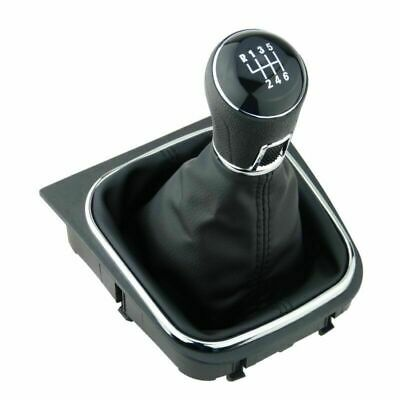 6 Speed Car Gear Shift Knob Gaiter Boot 12mm For VW Golf Rabbit Jetta MK5 MK6_