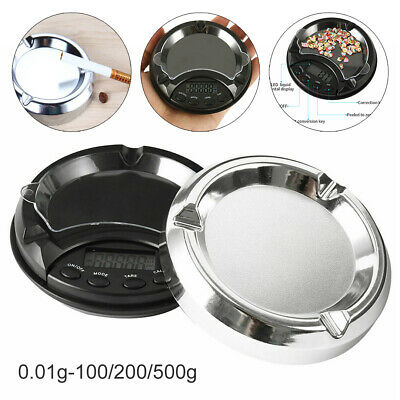 Ashtray Pocket Jewelry Scale Mini Digital LCD Display Weigh Electronic Measure