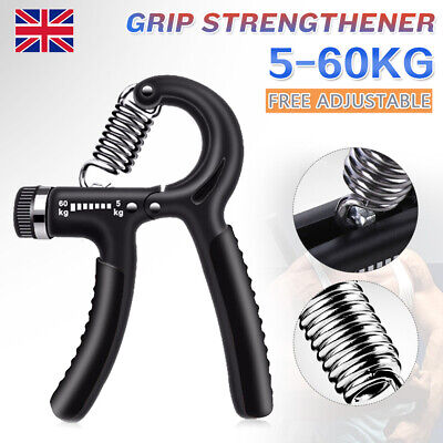 1/2x Adjustable Hand Grip 5-40KG Power Wrist Strength Forearm Training Exerciser