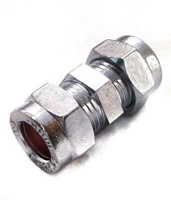 10mm Chrome Coupling - PACK OF 2