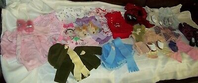 Doll Clothes Lot Fits American Girl Dresses, PJs, Fuzzy Slippers, more (15)