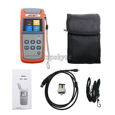 Mini Optical Time Domain Reflectometer OTDR Built-in Visual Fault Locator typs
