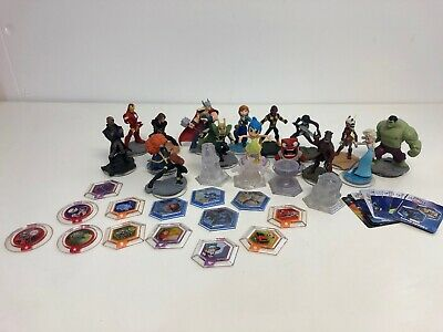 Disney Infinity Figure, Playset & Power Disc Bundle Marvel Disney Star Wars