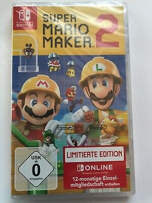 Switch Super Mariomaker 2 Limited Edition OVP-NEU