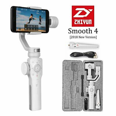 US Zhiyun Smooth 4 3-Axis Handheld Gimbal Stabilizer for iPhone X/8 Plus/7/SE