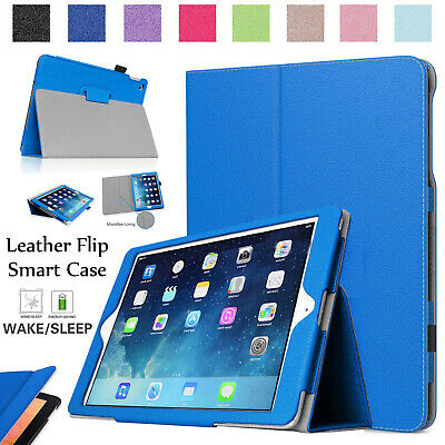 Slim Smart Leather Stand Flip Case Cover For iPad 9.7 Inch (2018) 6th Generation